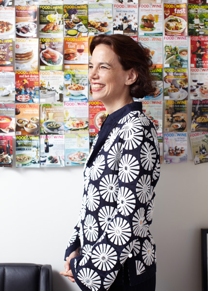 Dana Cowin - Editor in Cheif of Food & Wine Magazine