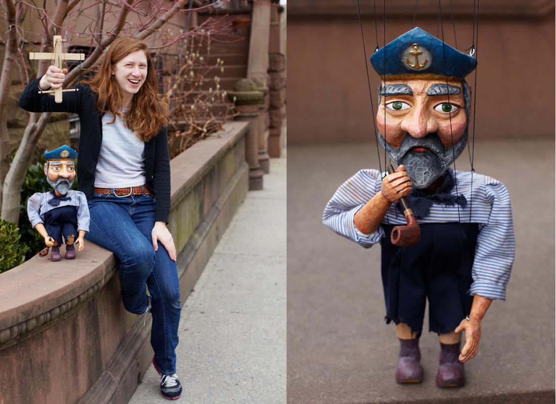 Diana Schoenbrun in Brooklyn