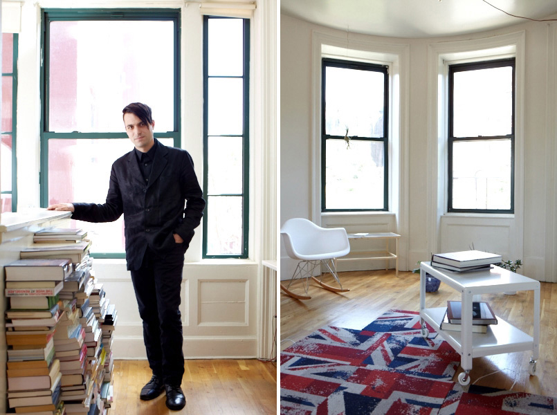 Francis Bitonti at home in Brooklyn.