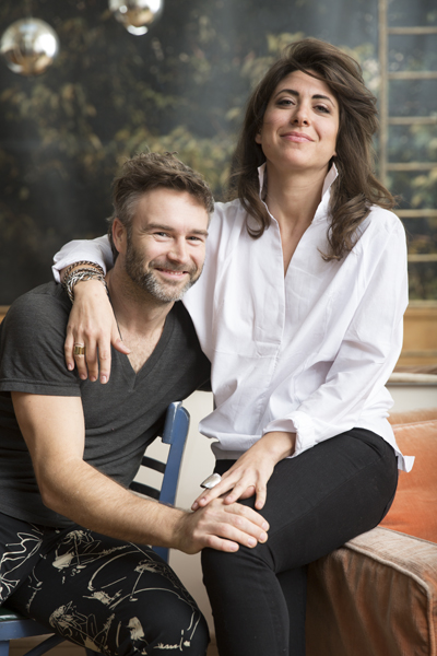 Jon Morris of The Windmill Factory and Leah Siegel of Leisure Cr