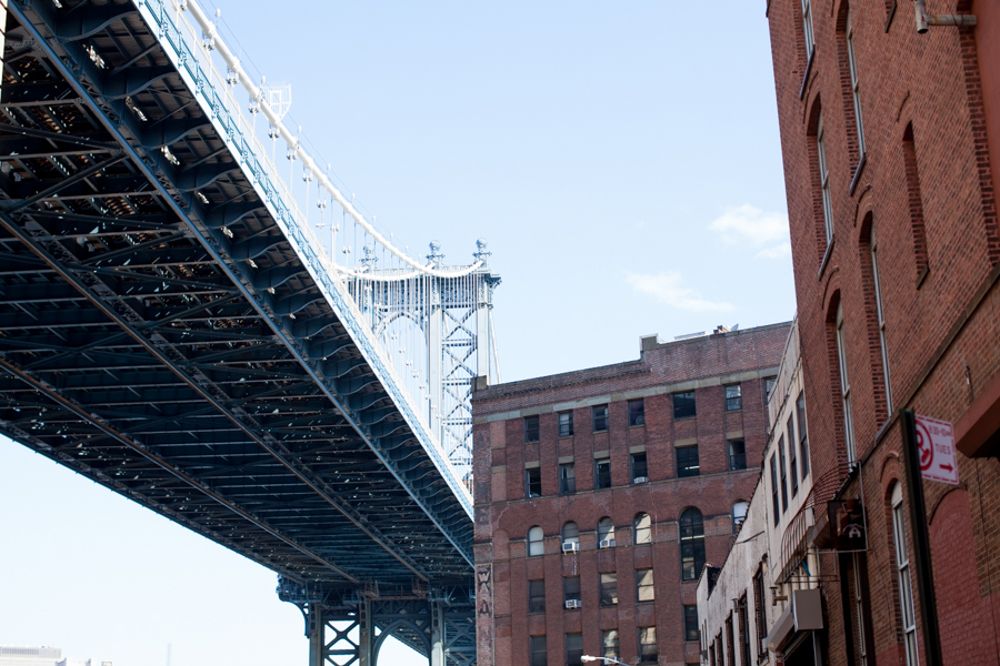 DUMBO brooklyn, down under the manhattan bridge